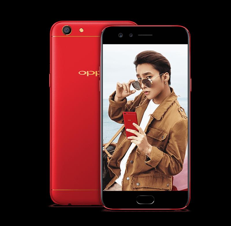 OPPO F3 phiên bản màu Đỏ Đam Mê