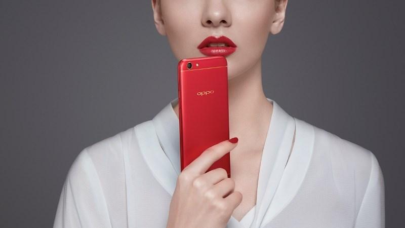 OPPO chính thức ra mắt smartphone F3 phiên bản màu Đỏ Đam Mê
