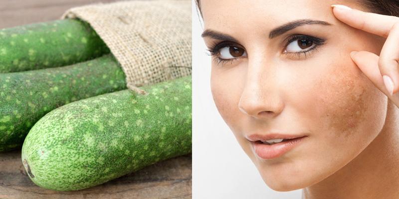 Mặt nạ từ bã bí xanh giúp trị nám da sau sinh hiệu quả
