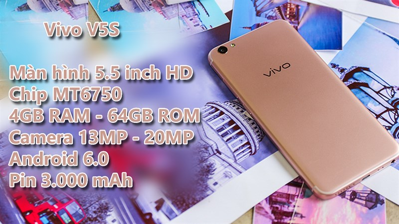 Trên tay Vivo V5S