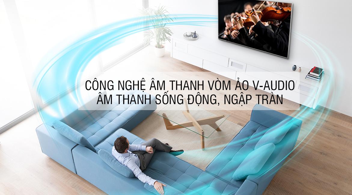 Công nghệ âm thanh vòm ảo V-Audio