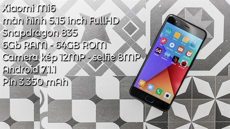 TRên tay Xiaomi Mi 6