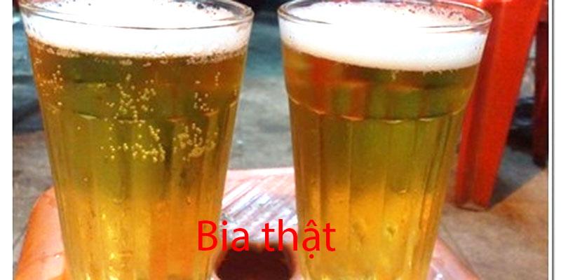 Bia Sài Gòn thật