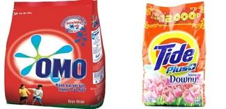 Nên mua bột giặt Omo hay Tide?