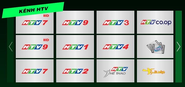 Xem tivi online bằng HTV Online