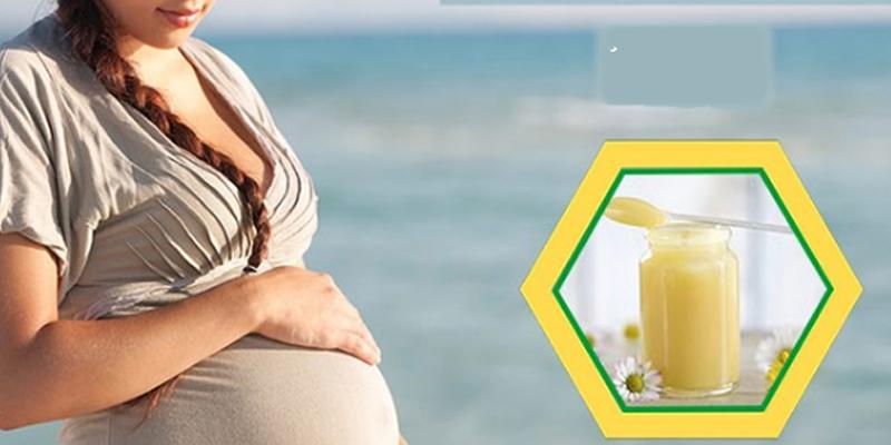 Tháng thứ 3 - 6 của thai kỳ mẹ bầu có thể dùng thêm sữa ong chúa