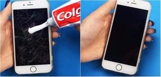 Công dụng bất ngờ của kem đánh răng với kính bị trầy xước