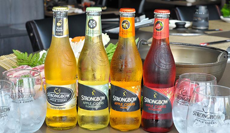 Strongbow vị nhẹ như vậy uống có say không?