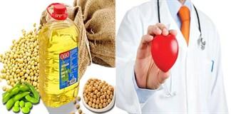 Công dụng của dầu đậu nành đối với sức khỏe của tim mạch