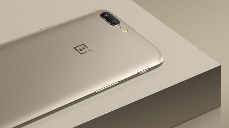 OnePlus 5 phiên bản soft gold