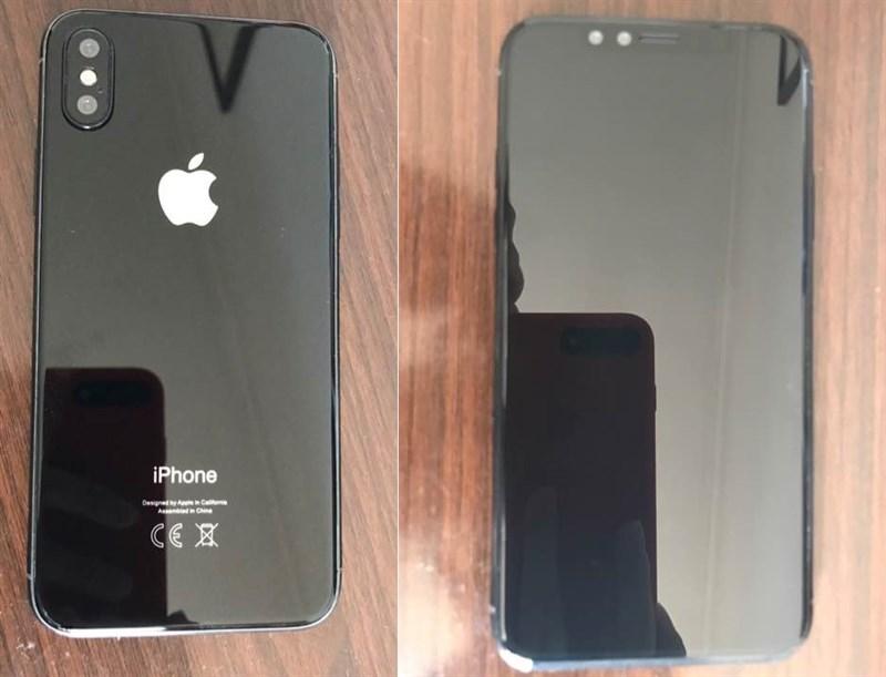 iPhone 8 phiên bản thương mại bất ngờ lộ ảnh thực tế
