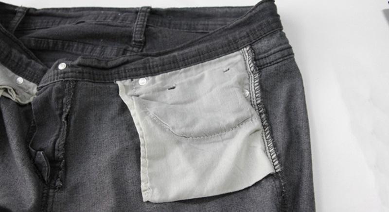 Lộn trái quần áo khi giặt