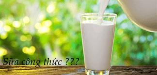 Sữa công thức là gì? Nó có khác với sữa bột?