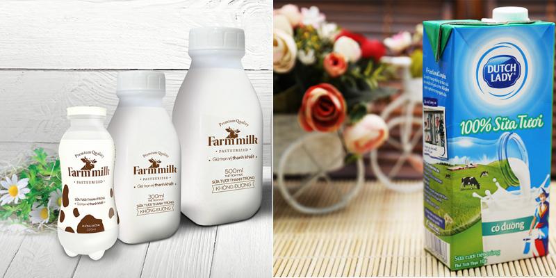 Sữa tươi thanh trùng và sữa tươi tiệt trùng đều có ưu điểm
