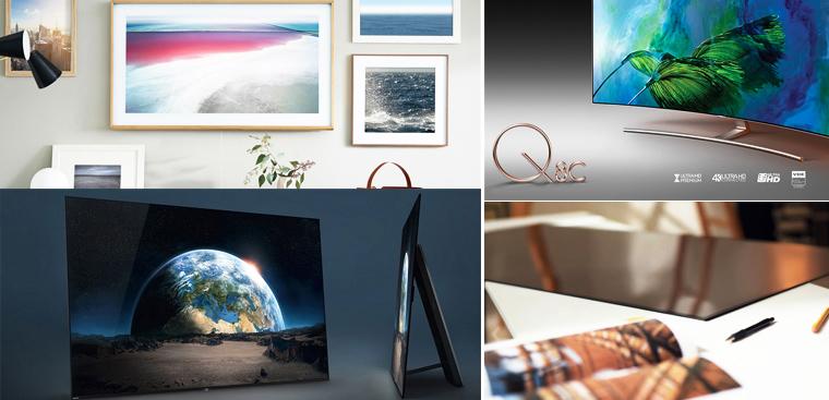 5 chiếc tivi có thiết kế ấn tượng năm 2017