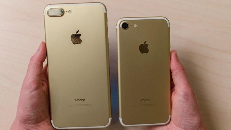 iPhone 7 và 7 Plus có bộ nhớ trong hàng trăm GB giảm giá sốc