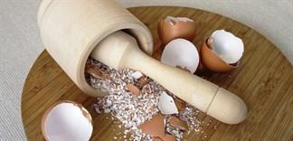 Mẹo vặt hay ho từ... vỏ trứng