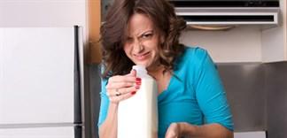 Sữa bị chua hết hạn nhưng vẫn có ích