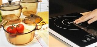 Nồi thuỷ tinh có nấu được bếp từ không?