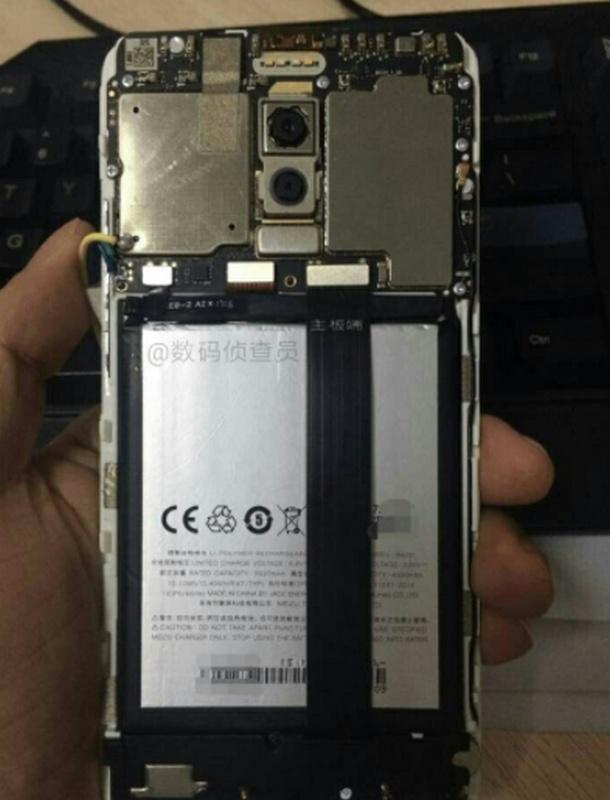 Meizu M6 Note lộ ảnh thực tế với camera kép, 4 đèn flash LED