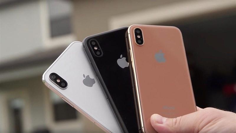 Video thực tế trên tay 3 phiên bản màu sắc cực đẹp của iPhone 8 - ảnh 1