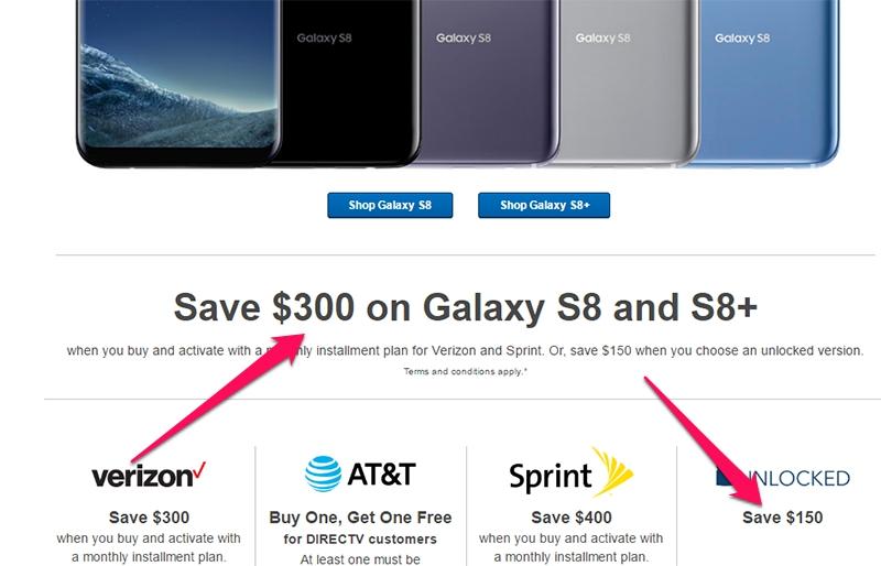 Note 8 chưa ra mắt, Galaxy S8 và S8 Plus đã giảm giá vài triệu đồng - ảnh 2