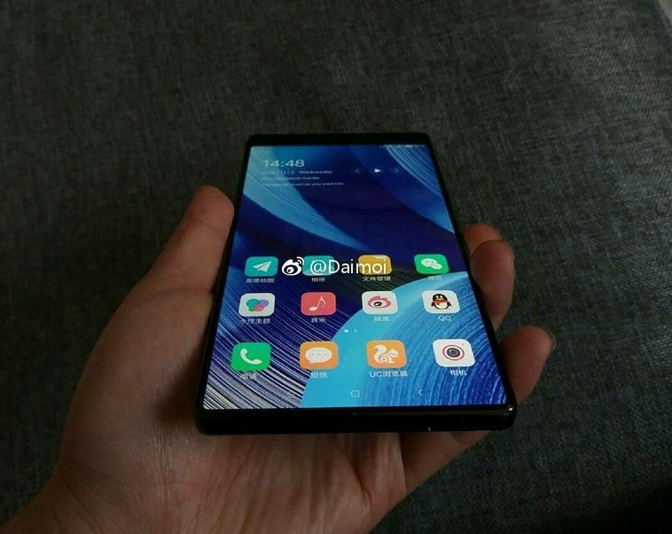 Xiaomi Mi MIX 2 lần đầu lộ ảnh thực tế siêu đẹp - ảnh 2