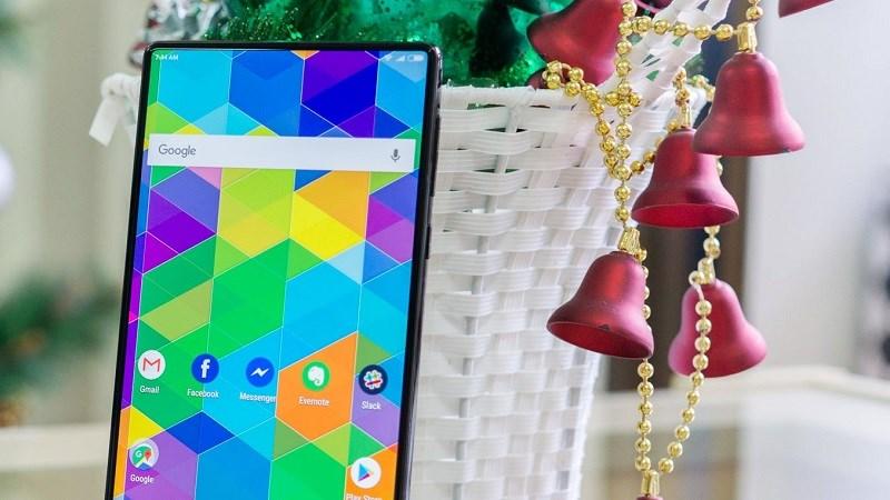 Xiaomi Mi MIX 2 lần đầu lộ ảnh thực tế siêu đẹp - ảnh 1