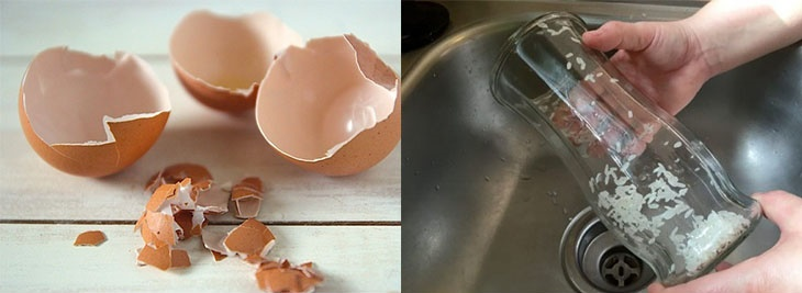Mẹo làm sạch và khử mùi đồ dùng bằng thủy tinh