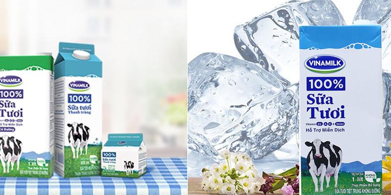 Sữa dùng công nghệ tiệt trùng bảo quản được 3 - 6 tháng ở nhiệt độ thường khi chưa mở nắp