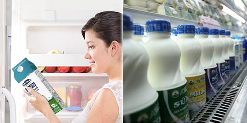Cách bảo quản các loại sữa