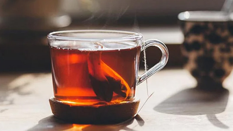 Pha trà túi lọc