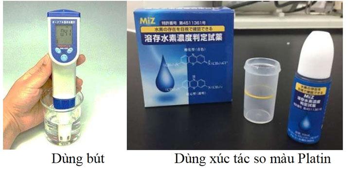 Hai phương pháp đo hàm lượng hydrogen có trong nước