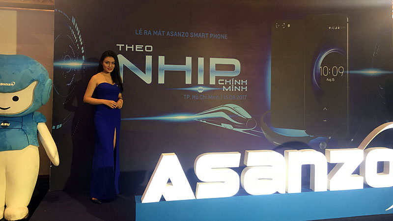 Smartphone Asanzo thương hiệu Việt