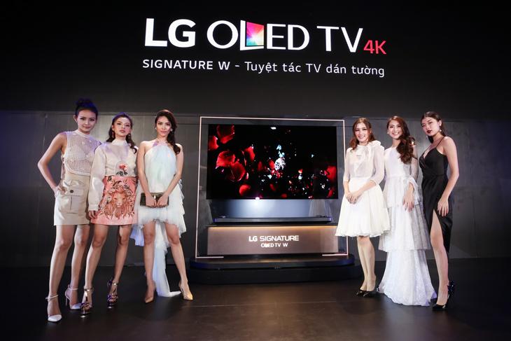 LG chính thức ra mắt dòng tivi OLED mỏng nhất