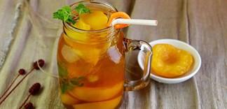 Cách làm trà đào thơm ngon mát lạnh