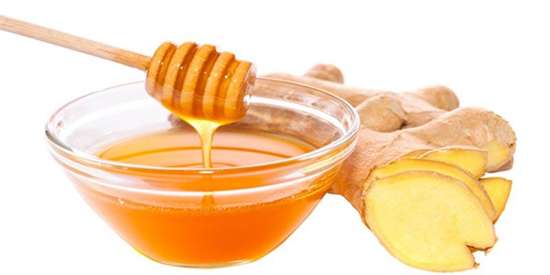 mật ong và gừng