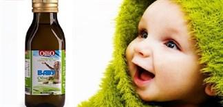 Cách cho bé ăn dầu ăn ô liu đúng cách