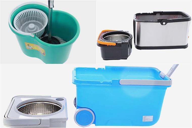 Chất liệu và cấu tạo của thùng chứa nước, rổ ly tâm