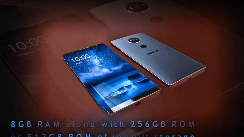 Bản thiết kế Nokia 10 Max 2017 với RAM 8GB, ROM 512GB tuyên chiến Note 8