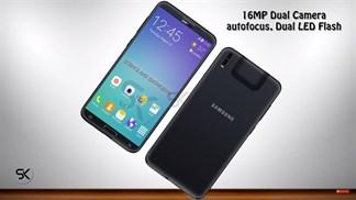 Concept: Galaxy Beam 3 viền cạnh màn hình siêu mỏng, camera kép, có cả máy chiếu