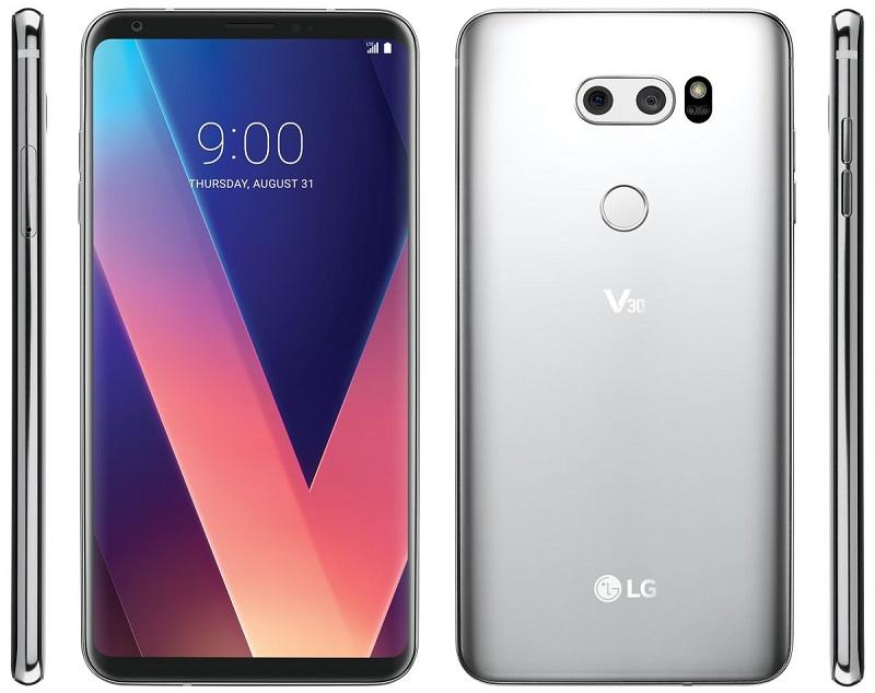 Hình ảnh dự kiến của LG V30