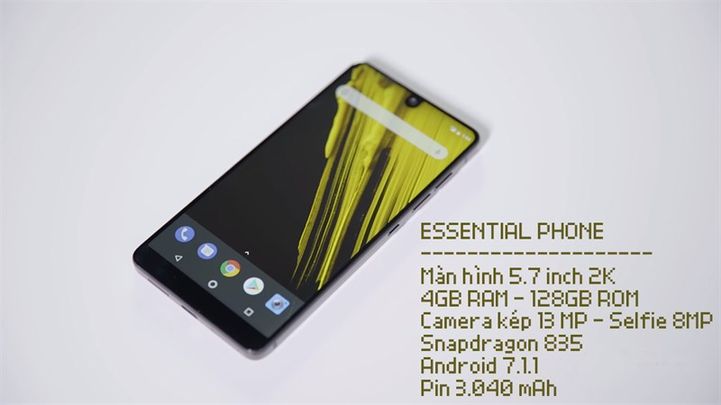 Trên tay Essential Phone