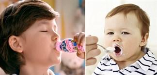 Cách cho trẻ ăn và uống sữa chua đúng cách