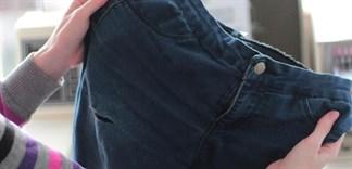 Làm thế nào để giặt quần jeans không bị phai màu?