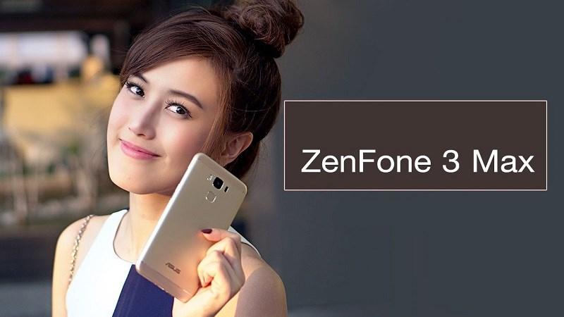 ZenFone 3 Max 5.5 inch nhôm nguyên khối thời trang, pin trâu, màn hình đẹp giá tầm 3 triệu