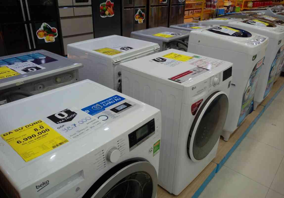 Kiểm tra lồng giặt và cửa máy giặt