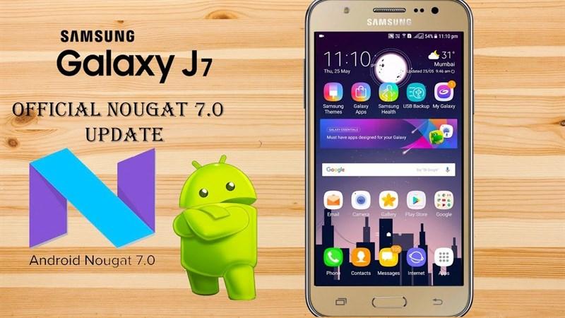 Galaxy J7 sắp được lên đời Android 7.0