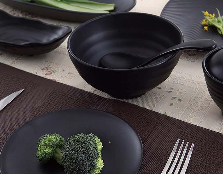 Nhựa melamine được chứng nhận an toàn sức khỏe khi dùng trên bàn ăn