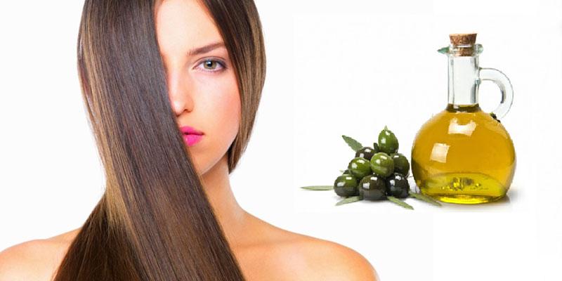 Sử dụng dầu oliu để chăm sóc tóc